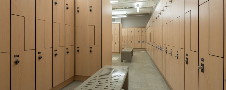 Maintenance scheduled for locker rooms wellness and recreation