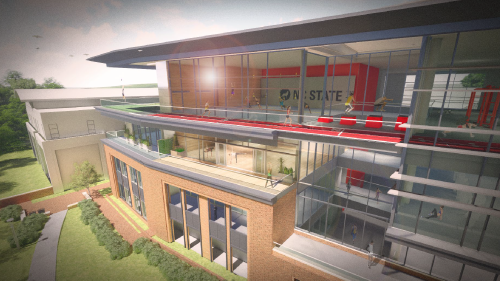 Rendering of Carmichael Wellness and Recreation Center