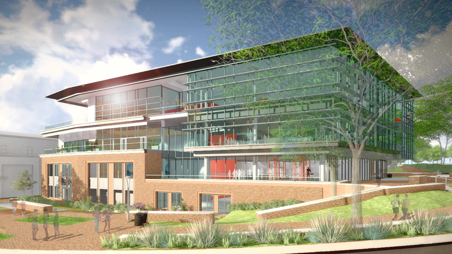 Carmichael Wellness and Recreation Center rendering