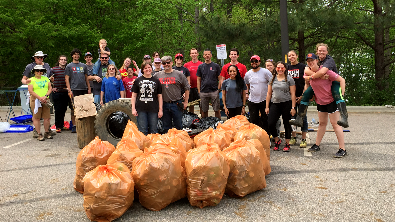 Lake Raleigh Cleanup