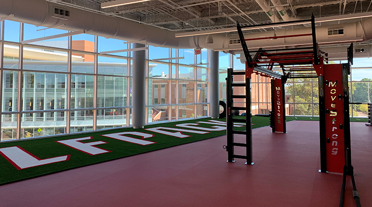 Fourth Floor of the Wellness and Recreation Center